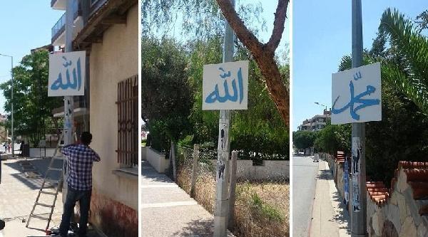 Menderes'te Arapça Tabela Tartışması