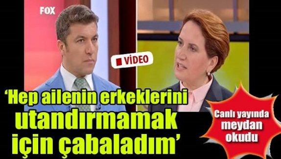 Meral Akşener'den çarpıcı açıklamalar!