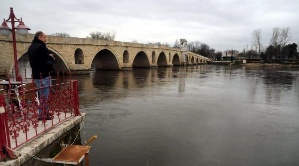 Meriç Ve Tunca Nehrinde Su Düzeyi Arttı