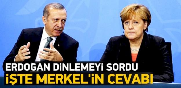 Merkel Erdoğan'a 'Bize güvenin' dedi