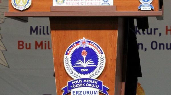 Merkeze Alinan Erzurum Emniyet Müdürüne Veda Töreni