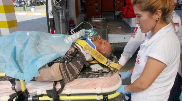 Mermer Ocağında Kaza, 1 İşçi Ağır Yaralandı