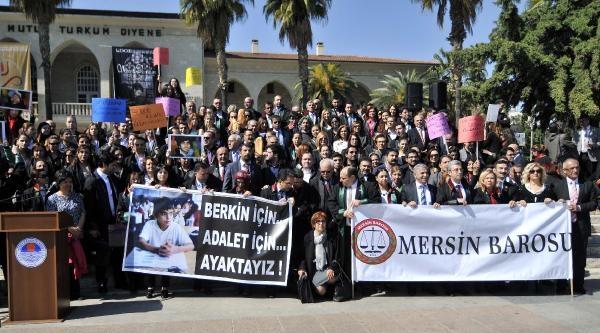Mersin Baro Üyeleri Berkin İcin Yürüyüş Yaptı