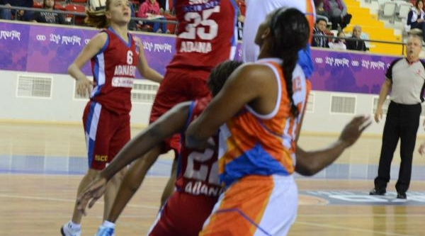 Mersin Büyükşehir Belediyespor-Botaşspor: 57-64