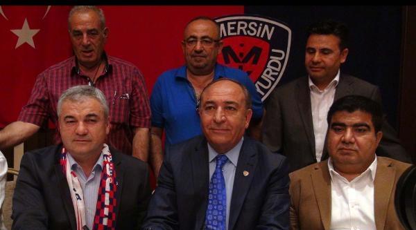 Mersin İdmanyurdu Rıza Çalimbay İle Sözleşme İmzaladi