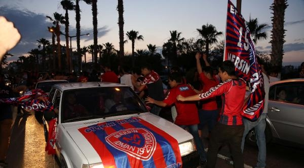 Mersin İdmanyurdu'nda Süper Lig Sevinci