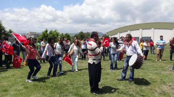 Mersin Üniversitesi'nde Gergin Türkçülük Kutlaması