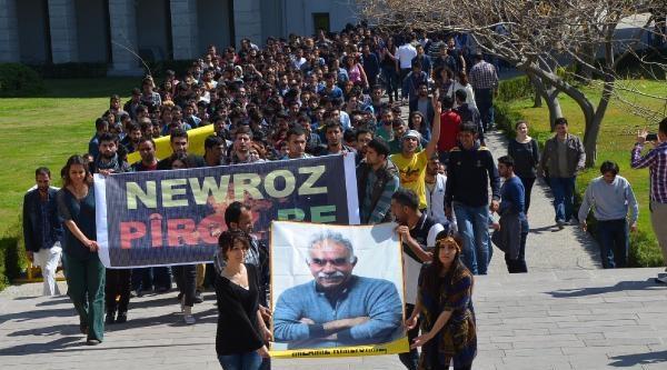 Mersin Üniversitesi'nde Öğrenciler Nevruzu Kutladı