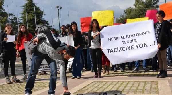 Mersin Üniversitesi'nde Soruşturma Eylemi