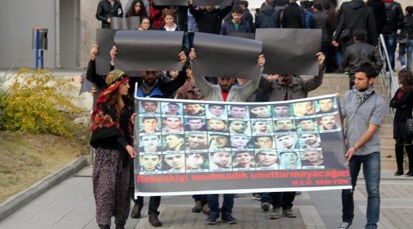 Mersin Üniversitesi'nde Uludere'de Ölenler Anildi