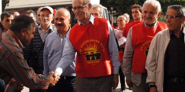 Mersin'de, Bariş Ve Özgürlük Yürüyüşü