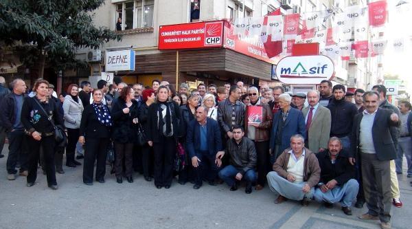 Mersin'de Chp'lilerden Ibrahim Genç Tepkisi