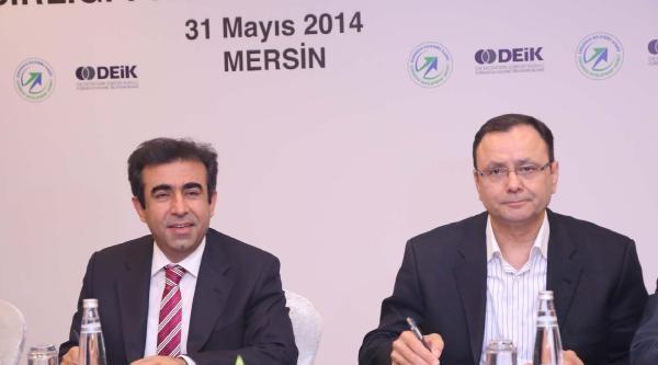 Mersin'de Çka Ve Deik'ten Kalkınma İçin İşbirliği