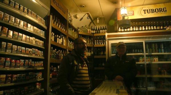 Mersin'de Elektrik Kesintisi Esnafi Vurdu