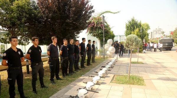 Mersin'de Gergin İhaleye Toma'lı Önlem