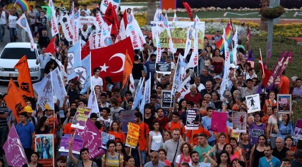 Mersin'de Gezi Olayları Anıldı