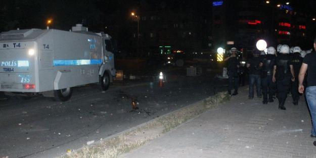 Mersin'de 'gezi Parkı' Olayları Sürüyor