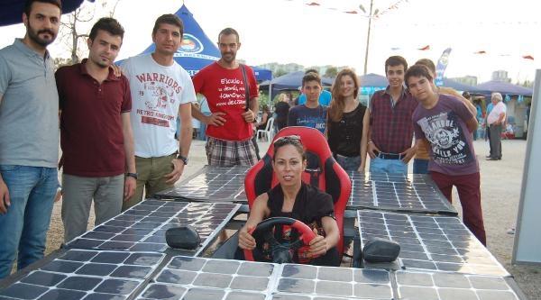 Mersin'de Güneş Festivali'nde, Güneş Enerjili Araçlar Tanıtıldı