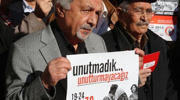 Mersin'de Maraş Olaylari Protestosu