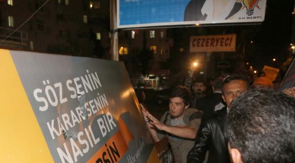 Mersin'de Olaylı Protesto