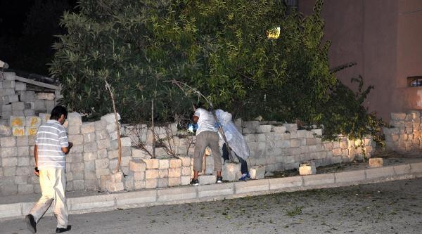Mersin'de Parça Tesirli Bomba Patladı