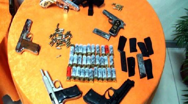 Mersin'De Silah Ticareti Operasyonu:15 Gözalti