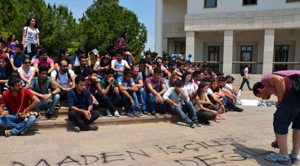 Mersin'de 'soma' İçin Oturma Eylemi