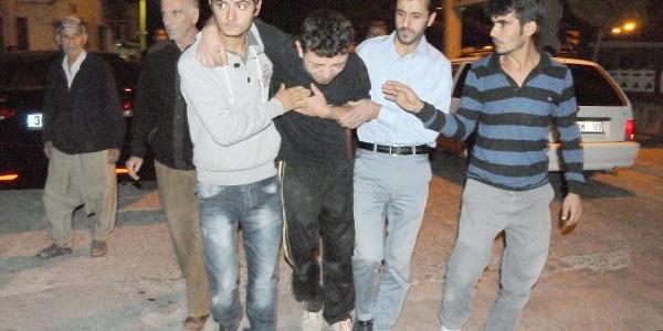 Mersin'de Türk Genci Döven Suriyelilere Tepki