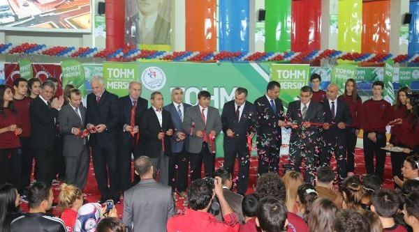 Mersin'deki Türkiye Olimpiyat Hazirlik Merkezi Açildi