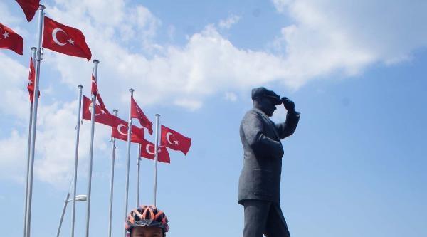 Mersin'den 28 Günde Bisikletle Marmaris'e Geldi