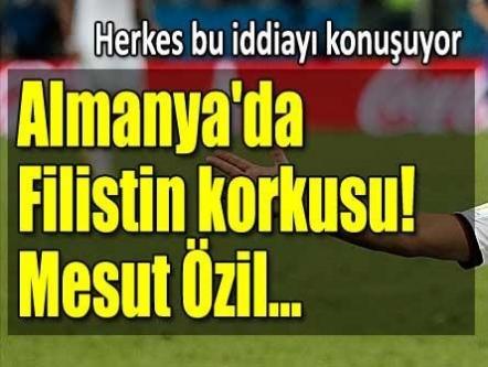 Mesut Özil, yardımı korktuğu için yalanladı!