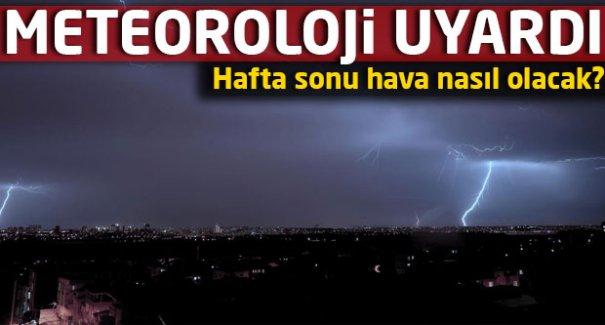 Meteoroloji uyardı: İstanbul'da yağışlar...