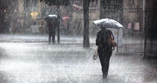 Meteoroloji uyardı! Kuvvetli yağışa dikkat!