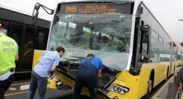 Metrobüs kazasının sebebi şok etti