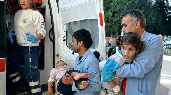 Meyve Suyu Diye Şurup Içen Suriyeli 3 Çocuk Zehirlendi