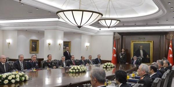 Mgk, Cumhurbaşkani Abdullah Gül Başkanliğinda Toplandi