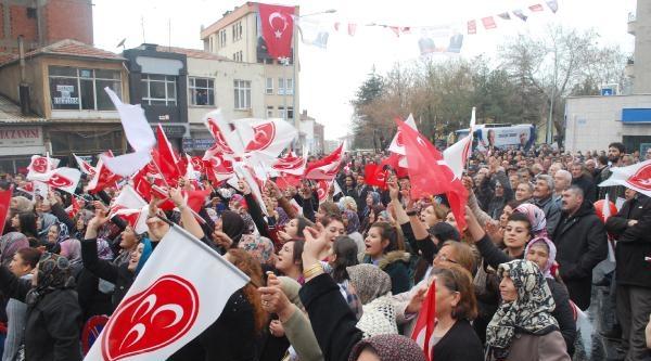 Mhp Ankara Adayı Karakaya: Ankaralılar 'gökçek Gitsin Karakaya Gelsin' Diyor