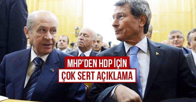 MHP'den HDP için çok sert açıklama
