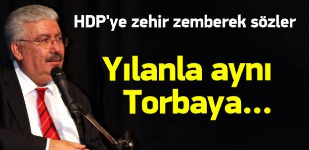 MHP'den HDP'ye zehir zemberek şeref cevabı