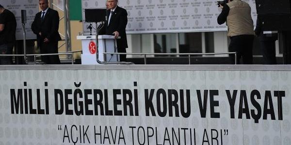 Mhp Genel Başkani Bahçeli Samsun'Da - Ek Fotoğraf