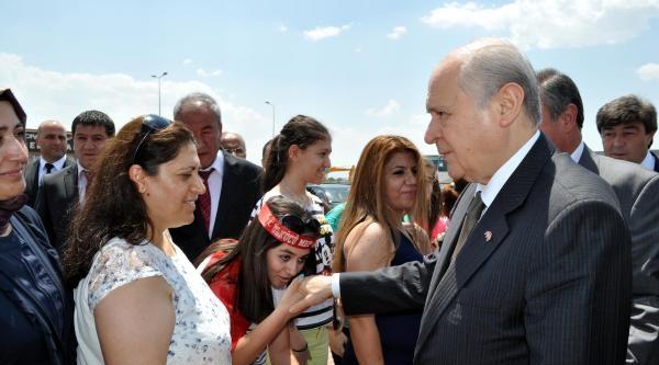 Mhp Lideri Bahçeli, Kayseri'de (1)