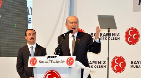 Mhp Lideri Bahçeli, Kayseri'de (3)