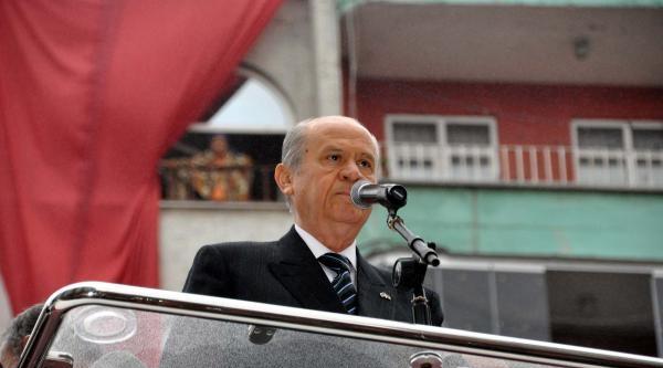 Mhp Lideri Bahçeli: Recep Tayyip Erdoğan Güç Çilginliğiyla Yoldan Çikti
