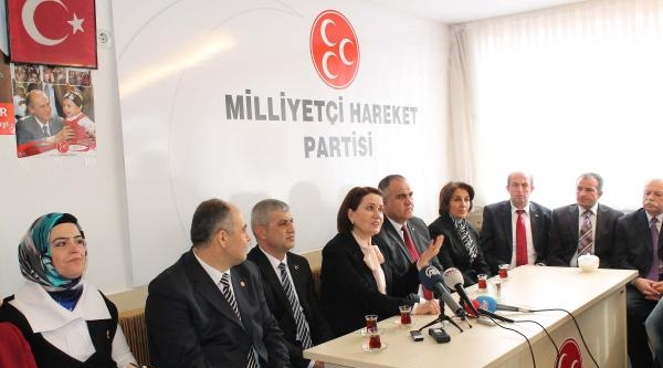 Mhp'li Akşener: Ak Parti'ye Oy Verenler Travma Yaşıyor