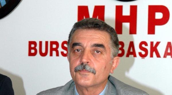 Mhp'li Büyükataman, Keles'te 'ne Mutlu Türküm Diyene' Tabelasının Sökülmesini Meclis'e Taşıdı