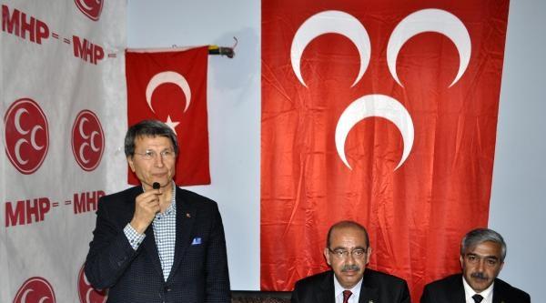 Mhp'li Halaçoğlu: Akp'li Bazı Vekiller Meclis'te Şirket Temsilcisi Gibi Çalişmakta