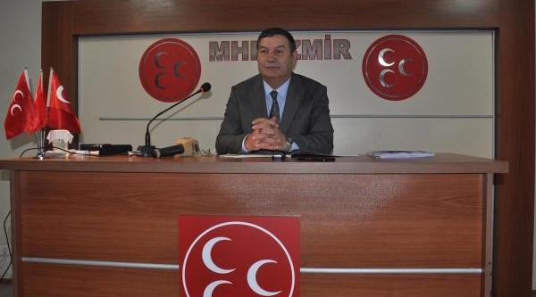 Mhp'Li Karataş: Iktidar Girtlağina Kadar Yolsuzluğa Batti