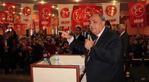 Mhp'li Türkeş: 30 Mart'ta Başbakan'ın Kulağını Bükün