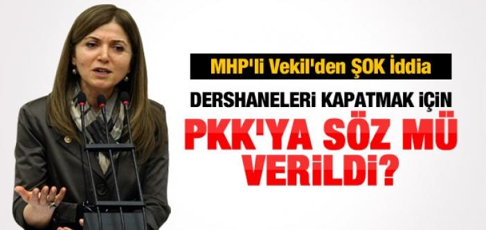 MHP'Lİ VEKİL'DEN ÇARPICI İDDİA: PKK'YA SÖZ MÜ VERİLDİ?