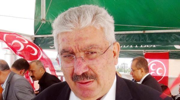 Mhp'li Yalçın: Başbakan, Koltuğa Oturmak İçin Halkı Yanlış Bilgilendiriyor